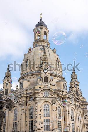 Dresden Frauenkirche Stock photo © manfredxy