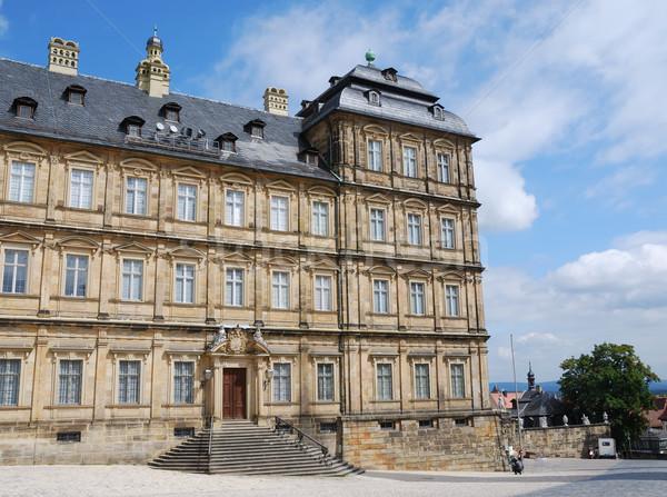 Residenza Germania cielo costruzione architettura Windows Foto d'archivio © manfredxy