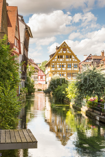 исторический старый город квартал реке архитектура Европа Сток-фото © manfredxy