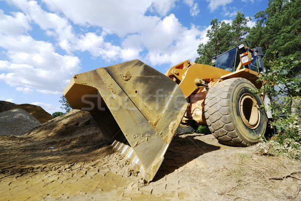 Crawler excavator Stock photo © manfredxy