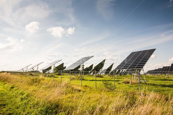 Alternative Energy with Photovoltaic Stock photo © manfredxy