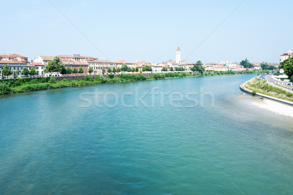 River Adige in Verona Stock photo © manfredxy