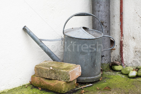 Vintage watering can Stock photo © manfredxy