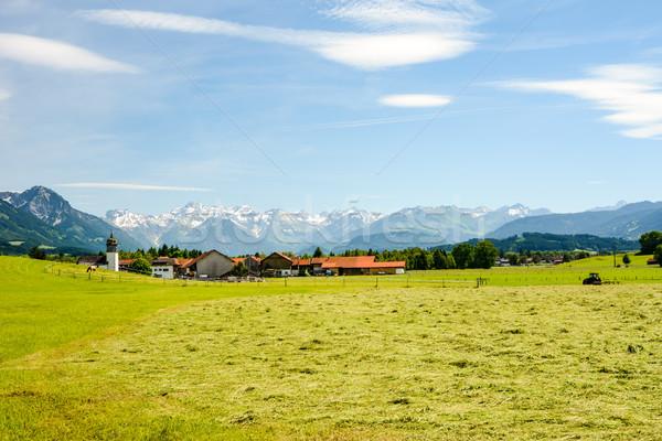 Village Agathazell in the Allgäu Stock photo © manfredxy