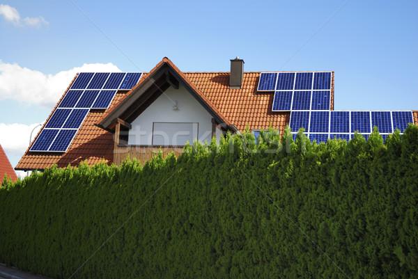 Photovoltaic Stock photo © manfredxy