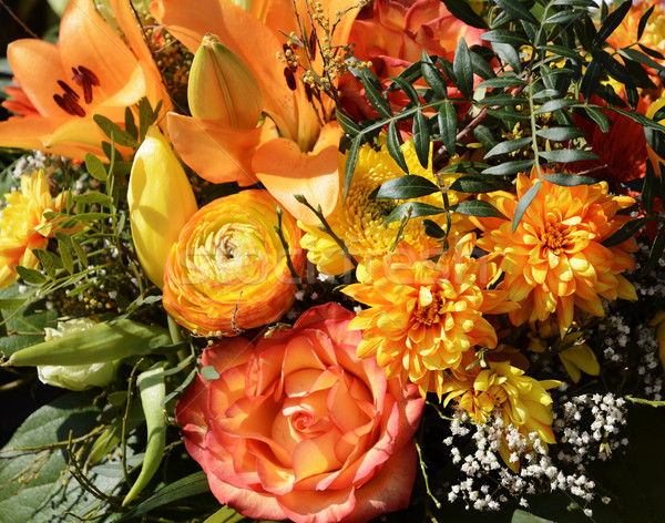 Flower arrangement Stock photo © manfredxy