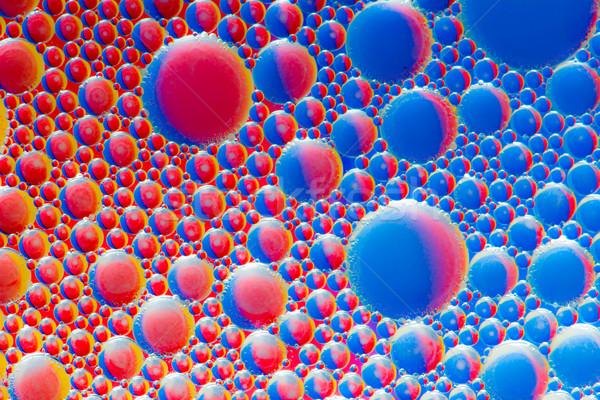 Abstract Macro Oil Bubbles Stock photo © manfredxy