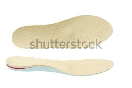 Ortopédico sapato par mostrar saúde couro Foto stock © manfredxy