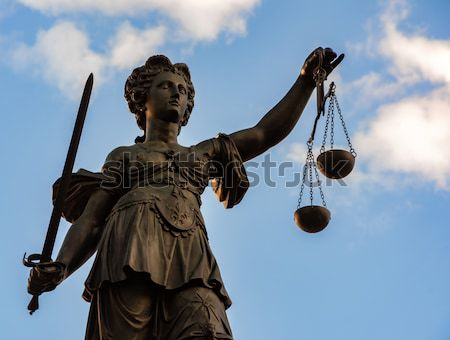 Lady Justice Stock photo © manfredxy