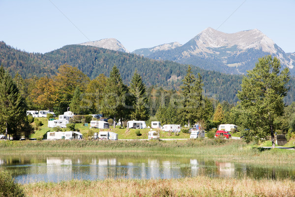 Campground in the Alps Stock photo © manfredxy
