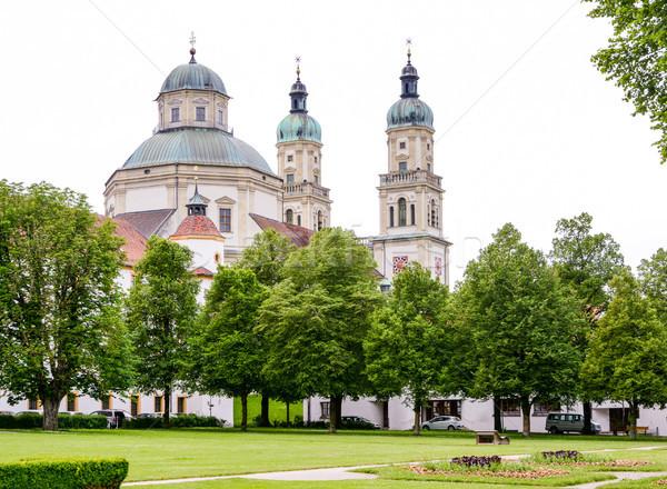 Saint Lawrence Basilica in Kempten Stock photo © manfredxy