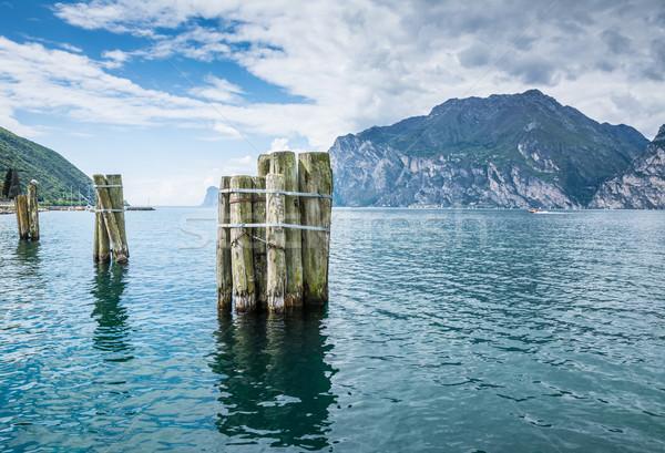 Lake Garda in Italy Stock photo © manfredxy