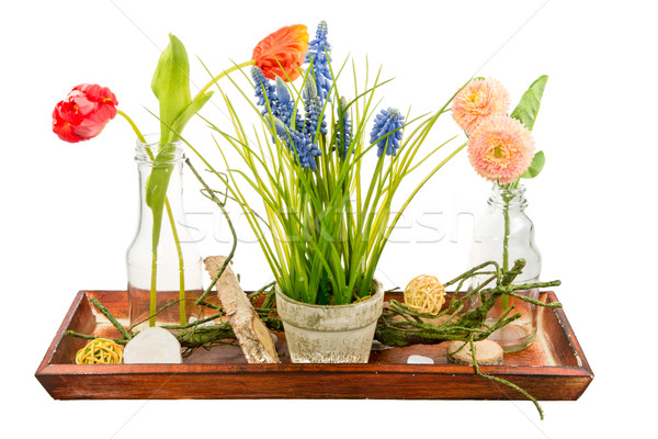 Isolated artificial flower deco Stock photo © manfredxy