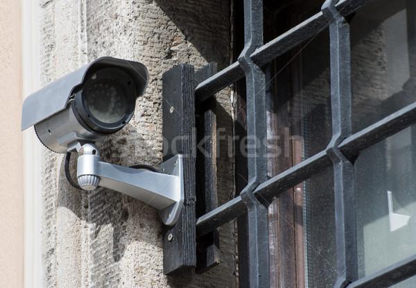 CCTV at Prison Bars Stock photo © manfredxy