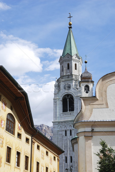 Church Of Cortina Stock photo © manfredxy