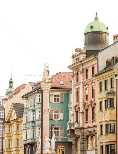 Historic Innsbruck Stock photo © manfredxy