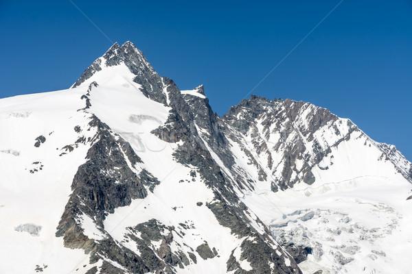 Grossglockner Mountain Peak Stock photo © manfredxy