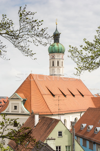 Church of the city of Dachau Stock photo © manfredxy