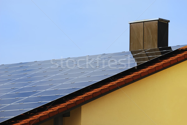 Renewable Energy With Photovoltaic Stock photo © manfredxy