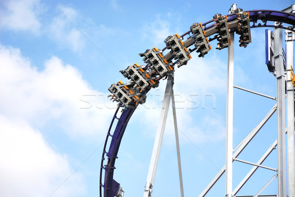 Roller coaster at the Octoberfest Stock photo © manfredxy