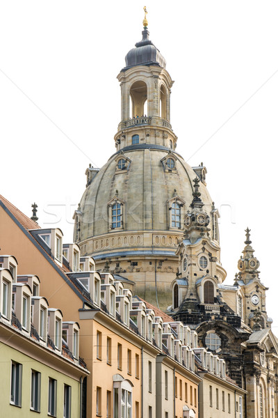 Cupola of Dresden Frauenkirche Stock photo © manfredxy