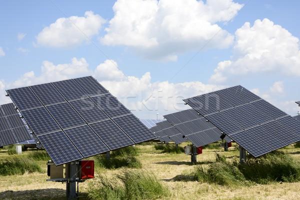 Solar Energy Stock photo © manfredxy