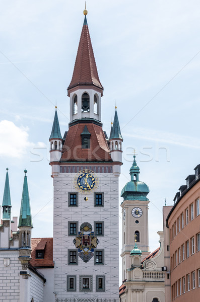 Old Town Hall in Munich Stock photo © manfredxy