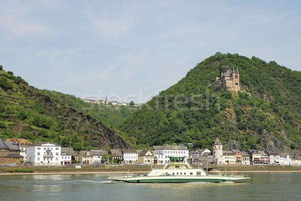 Rhine castle Stock photo © manfredxy