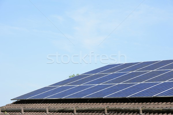 Photovoltaic Installation Stock photo © manfredxy