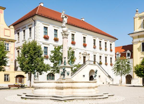 Historyczny placu miasta budynku architektury Europie Zdjęcia stock © manfredxy
