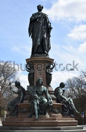 Augustus fountain Stock photo © manfredxy