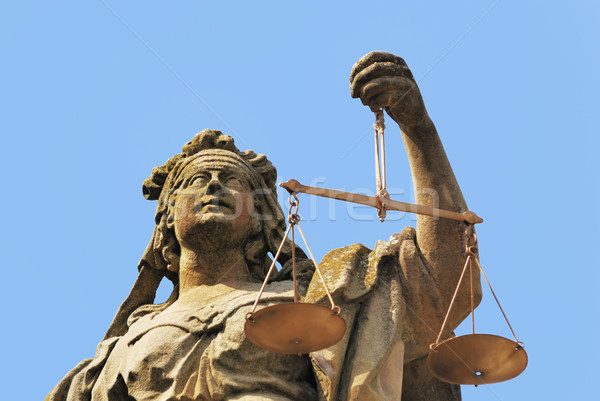 Justitia Stock photo © manfredxy