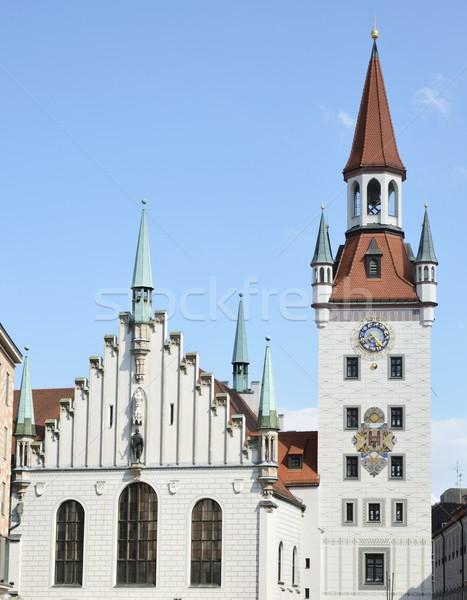 Munich Town Hall Stock photo © manfredxy