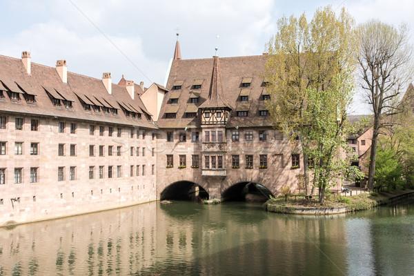 Heilig-Geist Spital in Nuremberg Stock photo © manfredxy