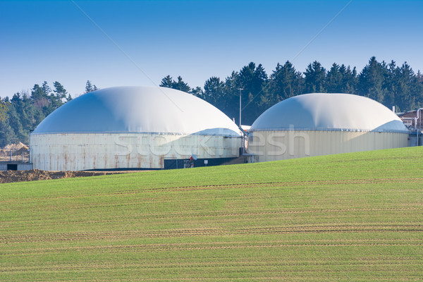 Alternative Energy with Bio Technology Stock photo © manfredxy
