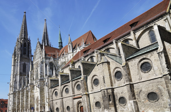 Cathedral of Regensburg Stock photo © manfredxy