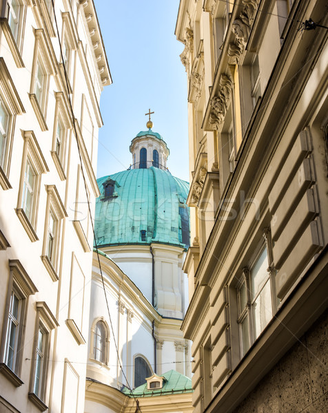 Baroque Peterskirche in Vienna Stock photo © manfredxy