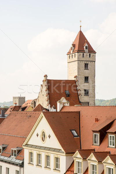 Historic City of Regensburg Stock photo © manfredxy
