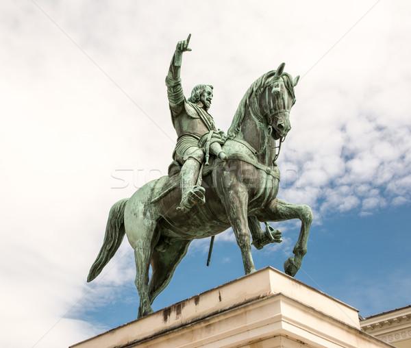 Monument of Maximilian I Stock photo © manfredxy