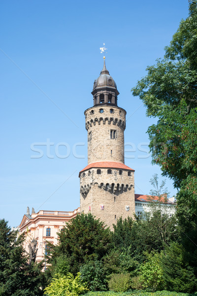 Reichenbacher Tower in Goerlitz Stock photo © manfredxy