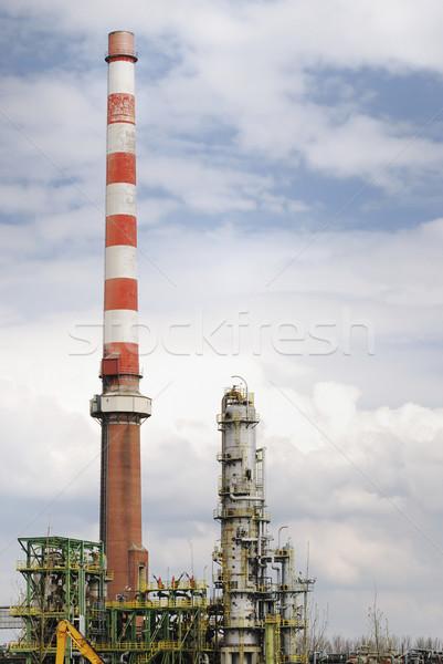 Eski terkedilmiş endüstriyel teknoloji Metal Stok fotoğraf © manfredxy