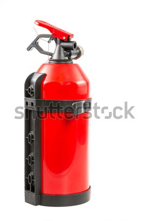 Plombed Portable Fire Extinguisher Stock photo © manfredxy