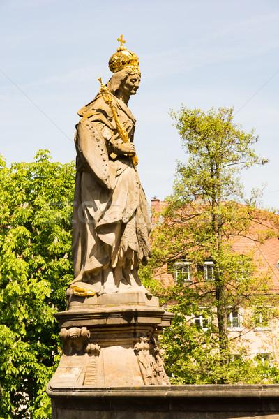 Sculpture Europe Allemagne repère célèbre historique Photo stock © manfredxy