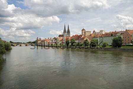 Medieval Regensburg Stock photo © manfredxy