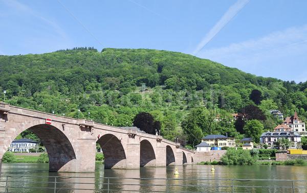 Old Bridge of Heidelberg Stock photo © manfredxy
