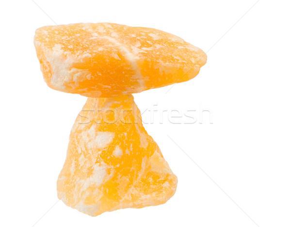 バランスのとれた オレンジ 方解石 ヒーリング 石 ストックフォト © manfredxy
