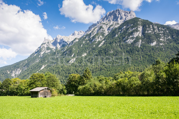 Karwendel mountain range in Bavaria Stock photo © manfredxy