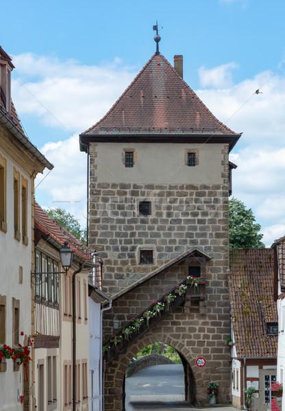şehir kapı Bina mimari tarih Stok fotoğraf © manfredxy