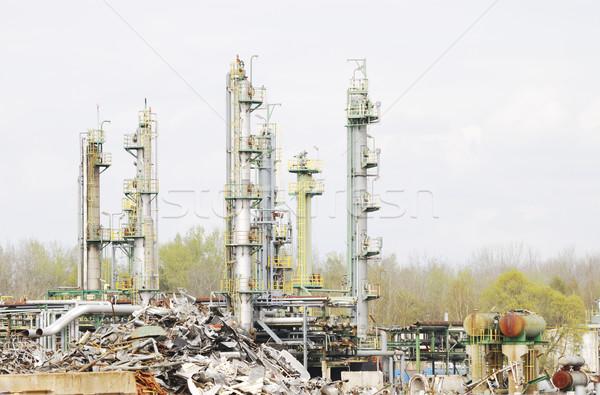 Industrial Scrap Metal Stock photo © manfredxy