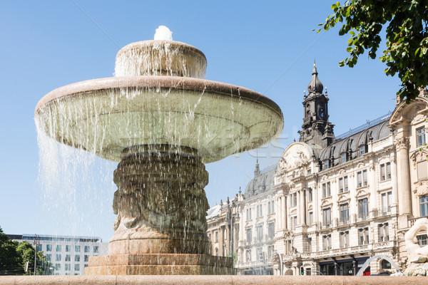 Munique fonte edifício arquitetura europa ponto de referência Foto stock © manfredxy